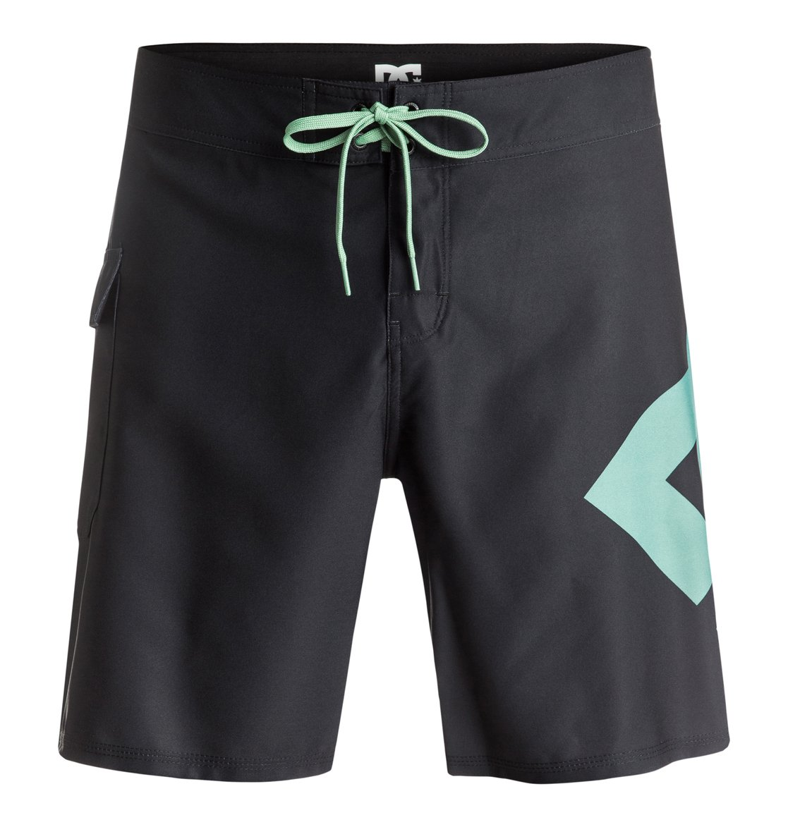 Boardshorty Dc Lanai 18 (Black/Malachite Green)