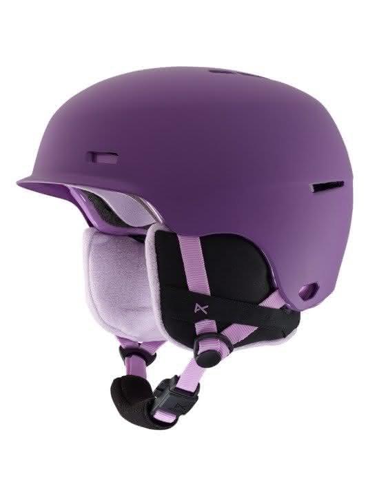 Dziecięcy Kask Snowboardowy Anon Flash (Baloonz Purple) W19