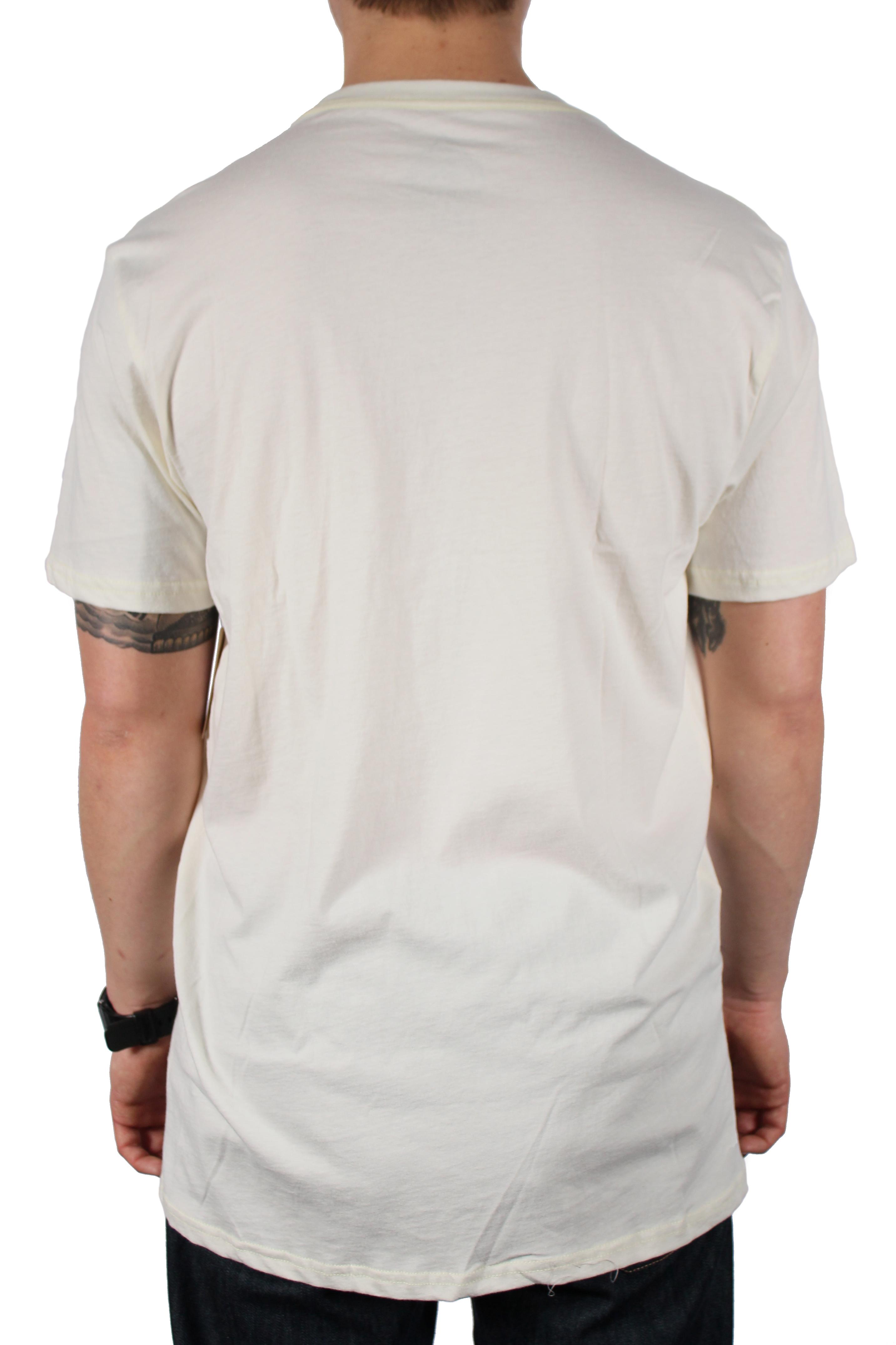 Koszulka Burton Stacked Slim (Vanilla)