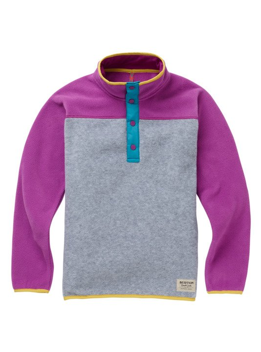 Bielizna Aktywna Burton Youth Spark Anorak (Gray Heather / Grapeseed) W19