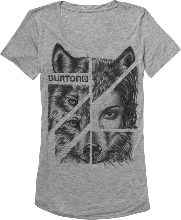 Koszulka Damska Burton Shewolf (Heather Grey)