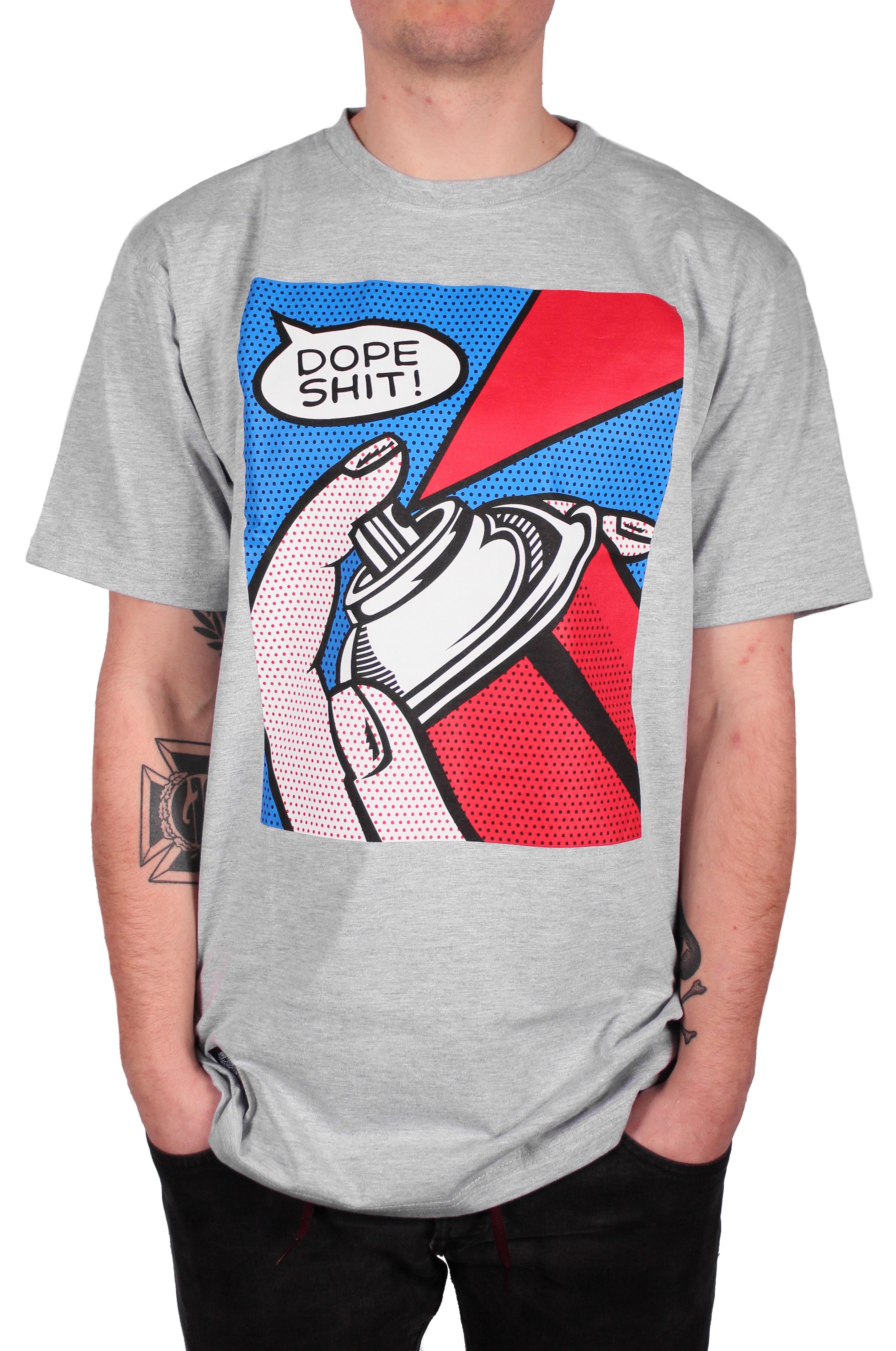 Koszulka Massdnm Dope (Light Grey)