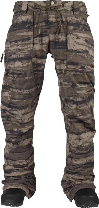 Spodnie Snowboardowe Burton Southside Mid (Camo Tie Dye Stripe)