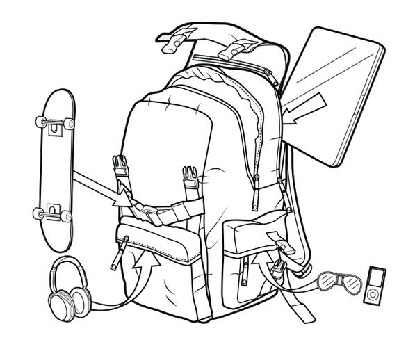 Plecak Burton Shaun White Collection (Micro Stripe)