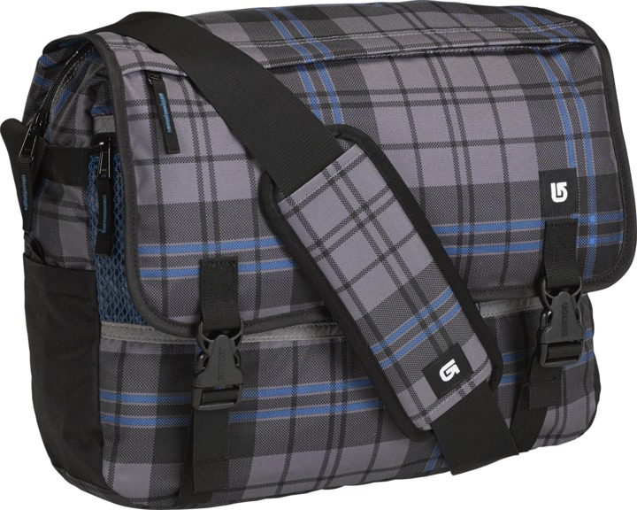 Torba Burton Synth Messenger (Vista Plaid)