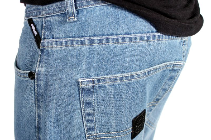 Spodnie Mass Denim Jeans Base (Light Blue)