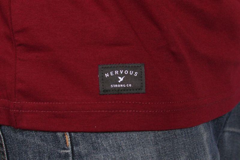 Koszulka Nervous Holo (Maroon)
