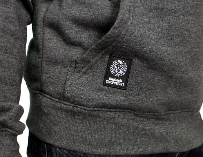 Bluza Massdnm Base Hoody (Dark Heather Grey)
