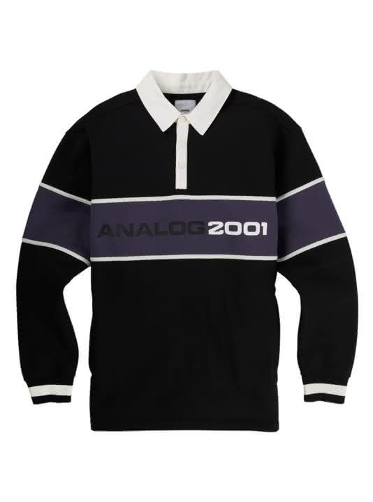 Bluza Analog Squam Rugby (True Black) W19