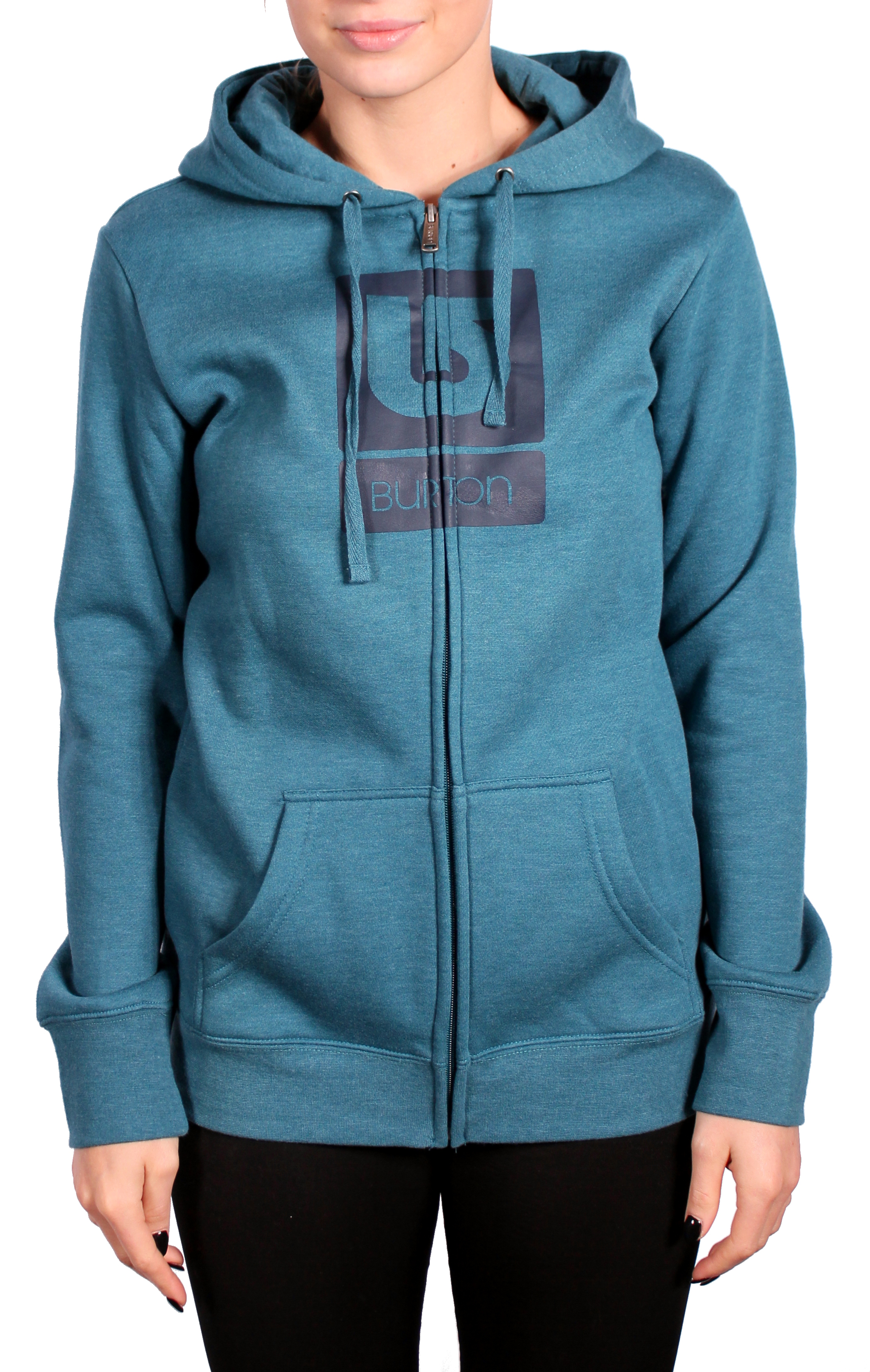 Bluza Burton Wms Rpet Logo Vertical (Heather Cerulean)