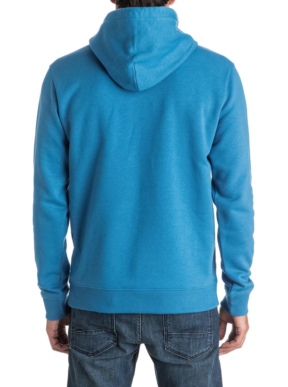 Bluza Quiksilver Big Logo Hoodie (Vallarta Blue) Ss17