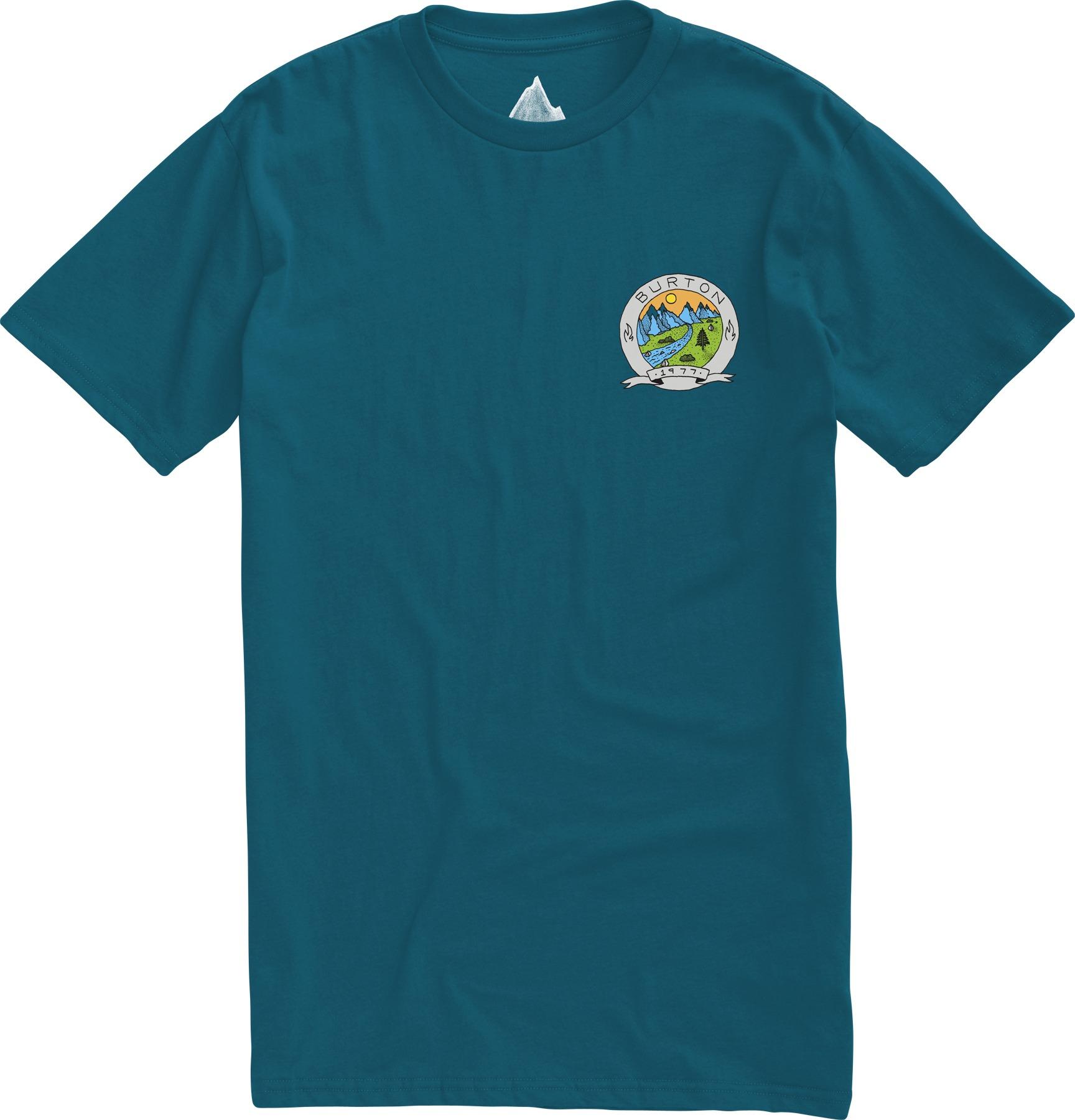 Koszulka Burton Oak Creek Slim (Cerulean)