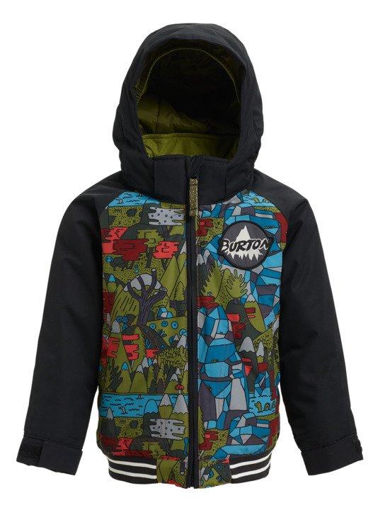 Dziecięca Kurtka Snowboardowa Burton Boys Minishred Game Day Jacket (Neverending Story / True Black) W18