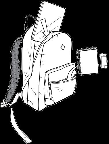 Plecak Burton Monette (Texture Stripe)