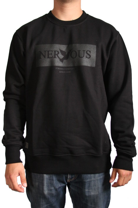 Bluza Nervous Crew Brand Box (Black) Fa17