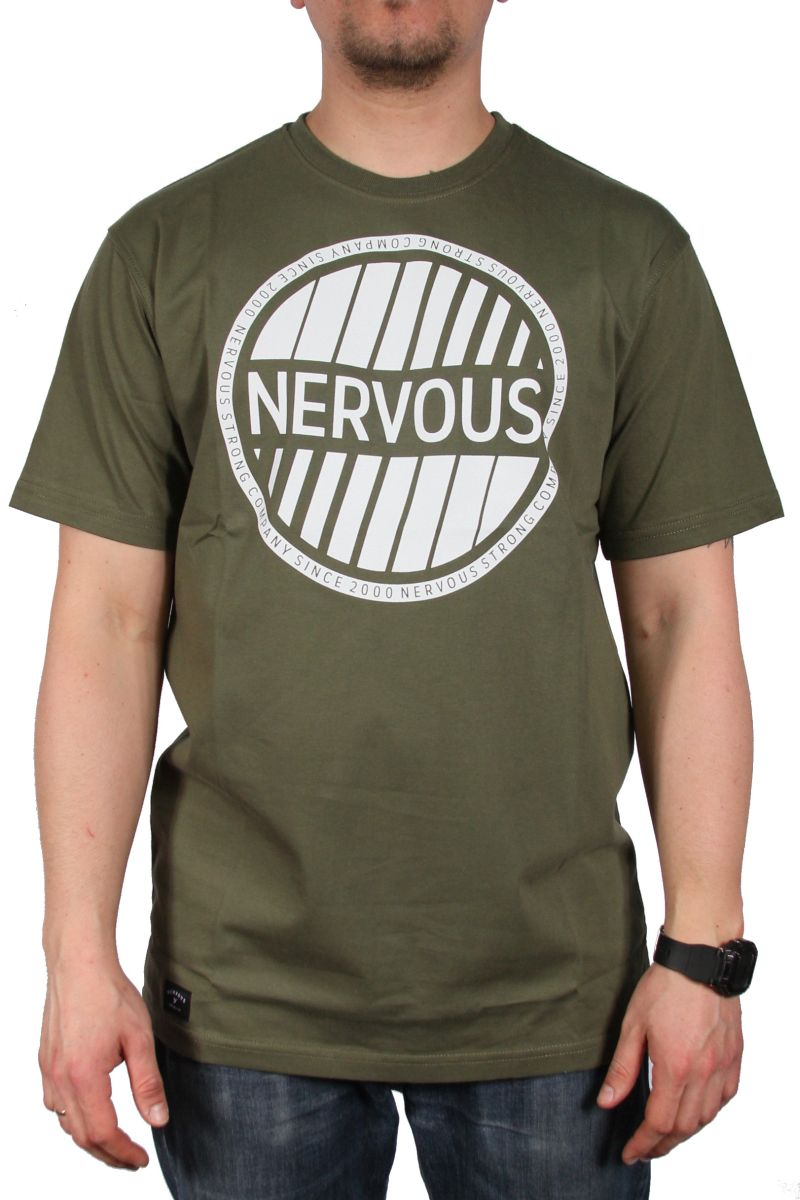 Koszulka Nervous Holo (Olive)