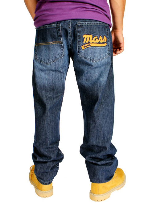 Spodnie Mass Denim Lagoon (Dark Blue)