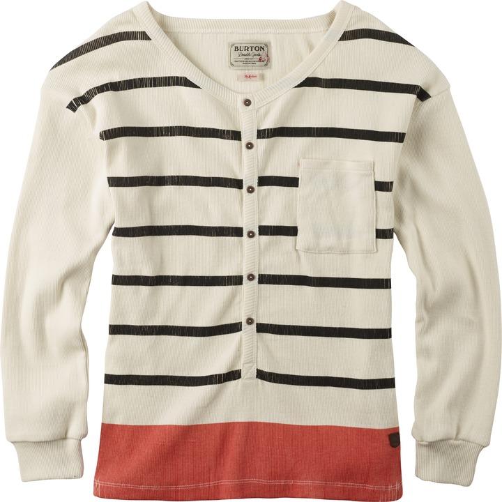 Sweter Damski Burton Rayne Henley (Vanilla Eclipse Stripe)