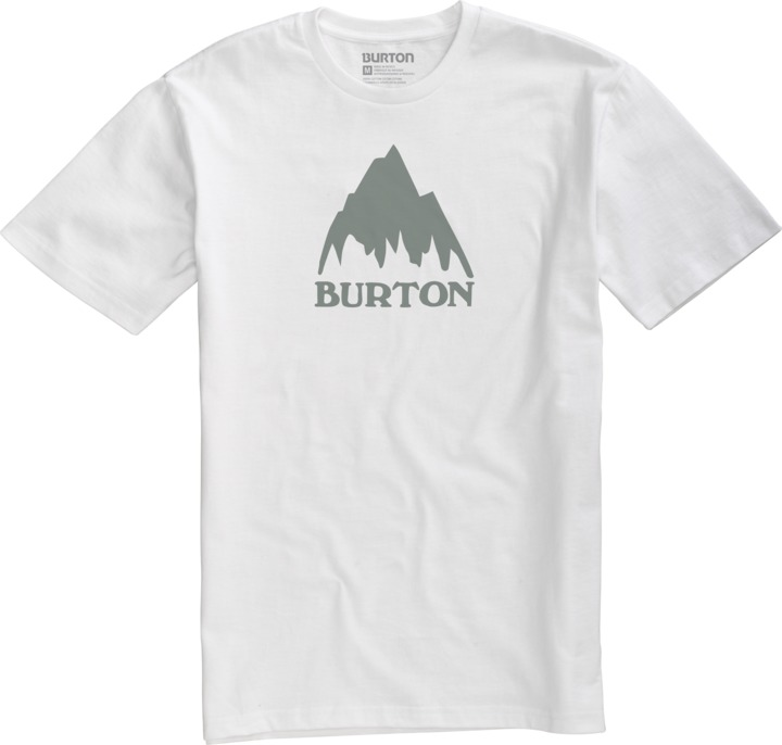 Koszulka Burton Mountain Logo (Stout White)