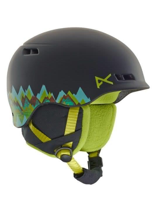 Dziecięcy Kask Snowboardowy Anon Burner (Scout Black) W19