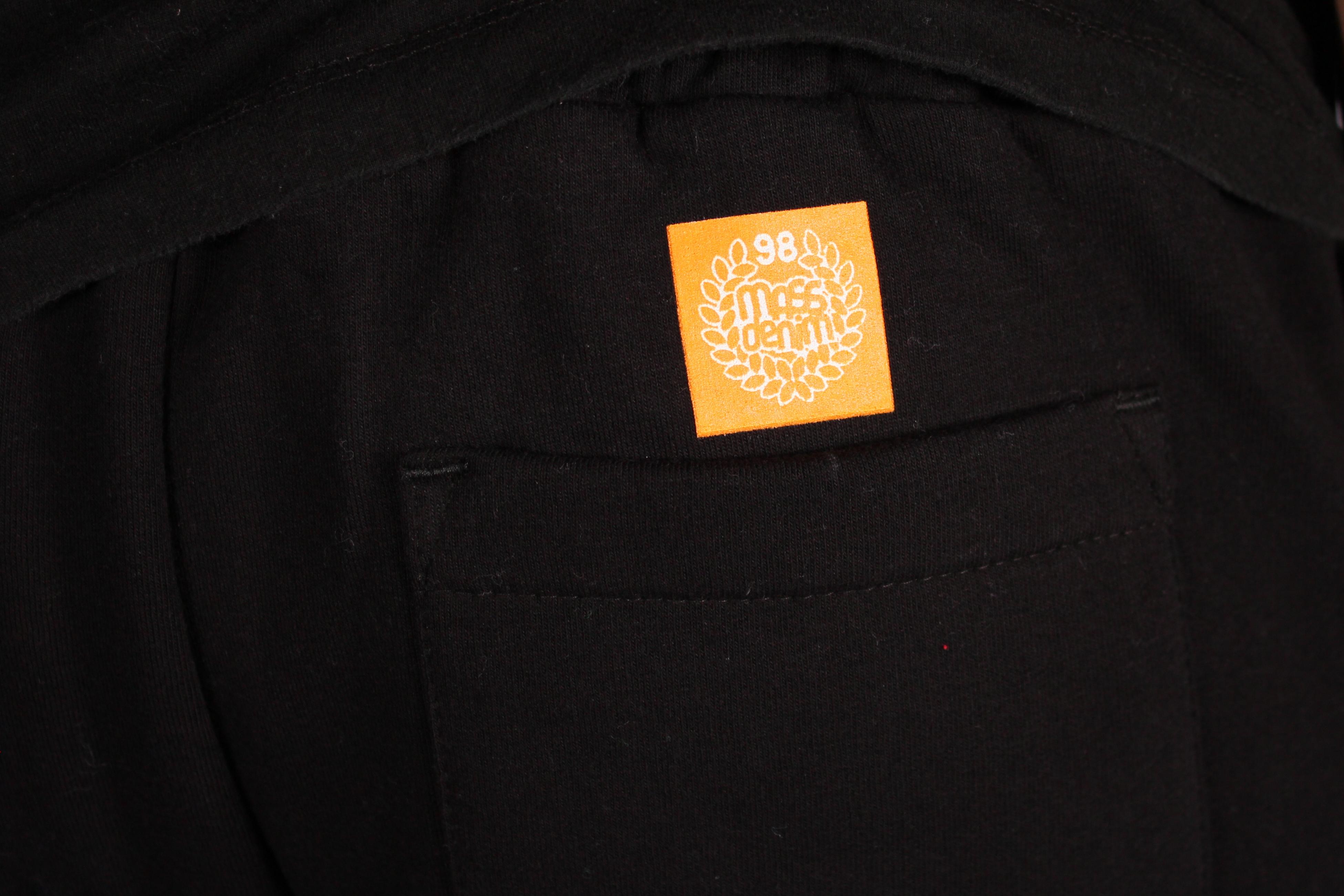 Spodnie Dresowe Mass Dnm Base (Black)