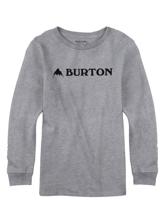 Longsleeve Dziecięcy Burton Boys Mountain Horizontal (Heather Grey) W18