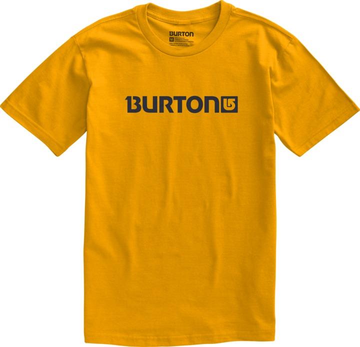 Koszulka Burton Logo Horizontal (Mustard)