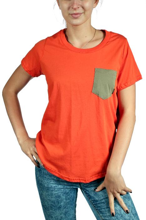 Koszulka Damska Burton Alley Pocket (Red Clay)