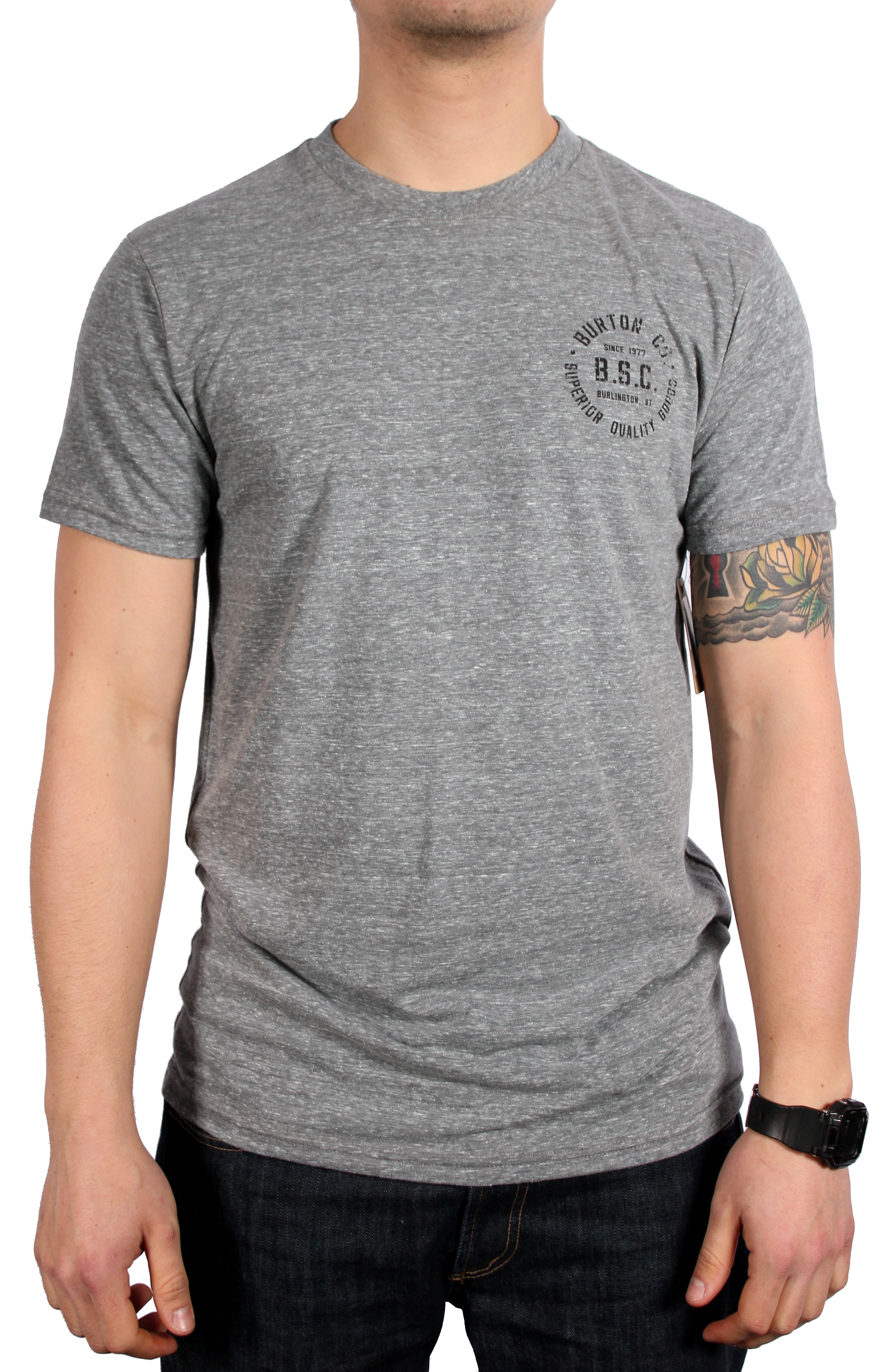 Koszulka Burton B.s.c Tri Htr (Dark Ash Heather)