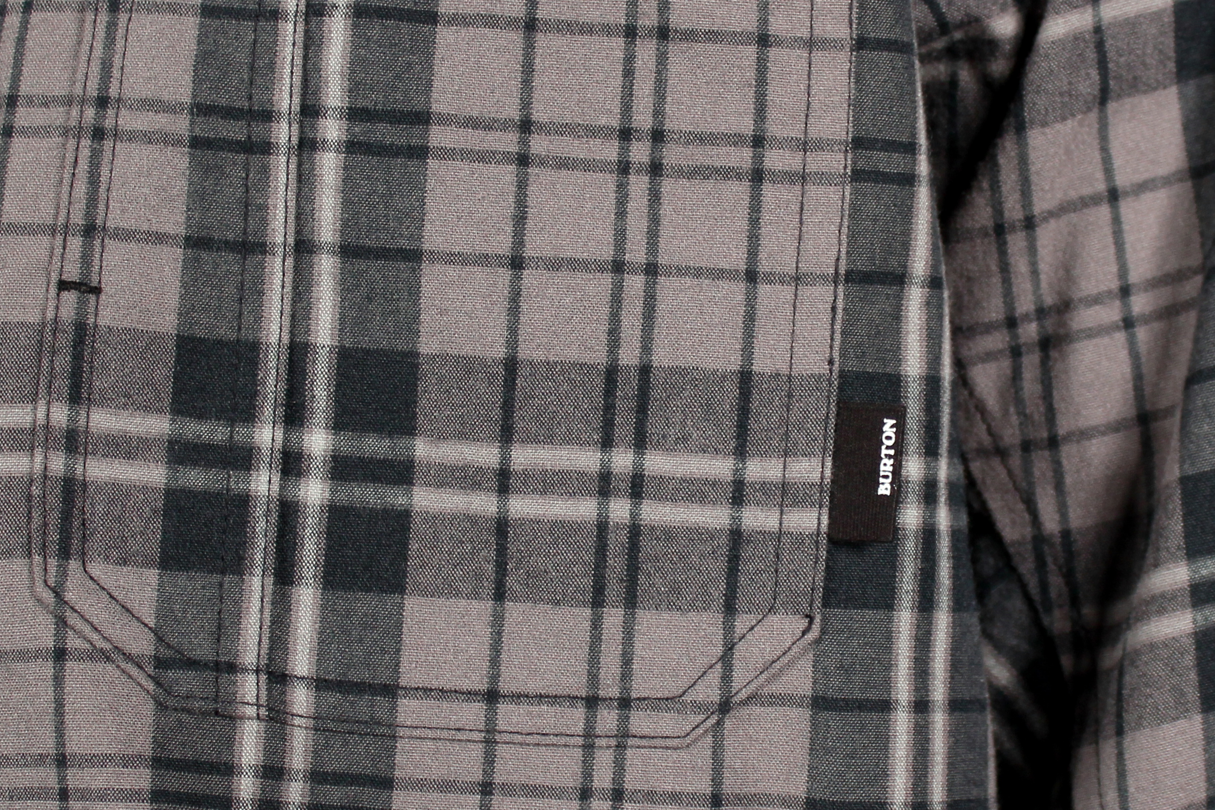 Koszula Burton Clifford Tech Flannel (True Black Vista Plaid)