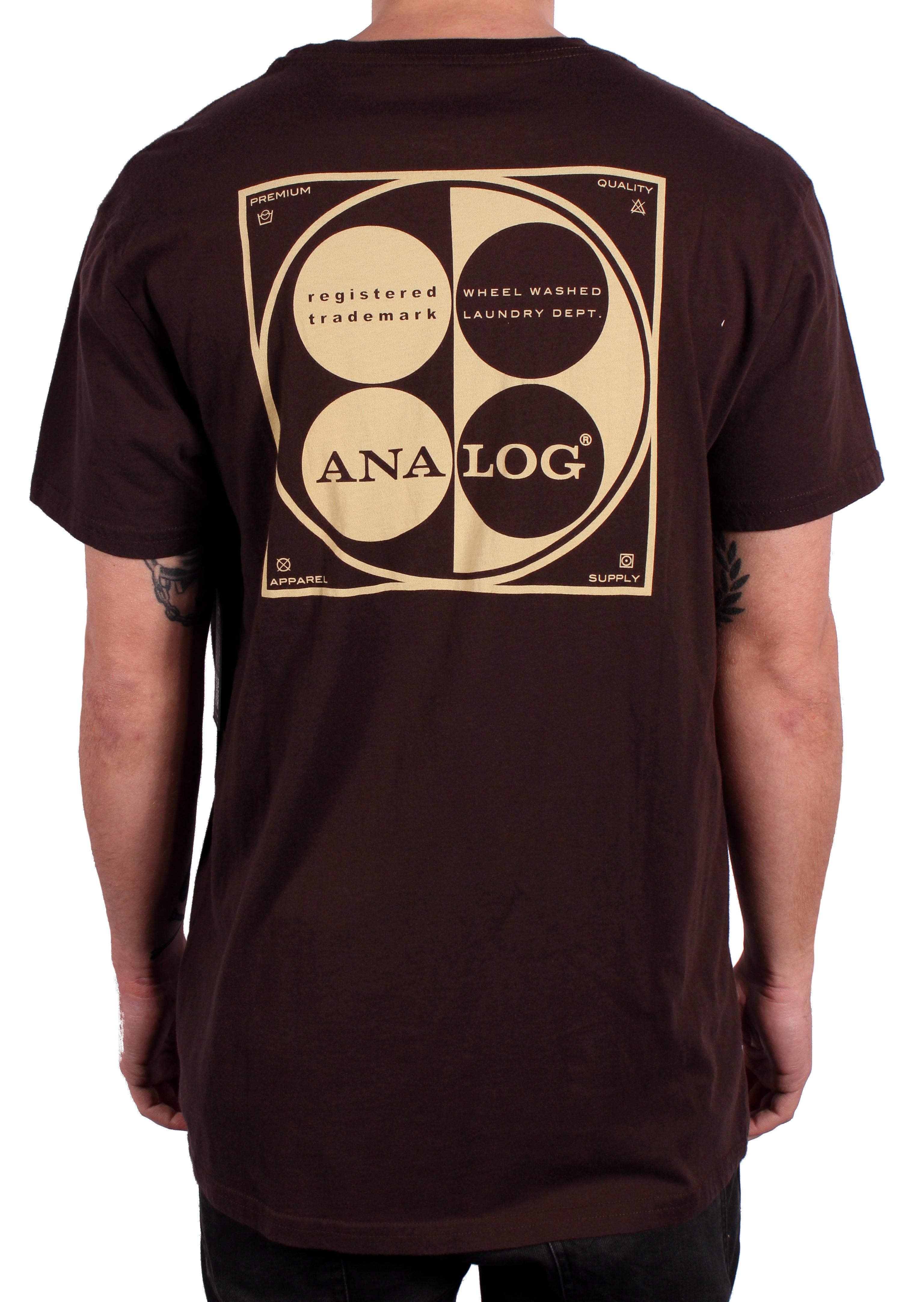 Koszulka Analog Laundromat Wwp (Coffee Bean)
