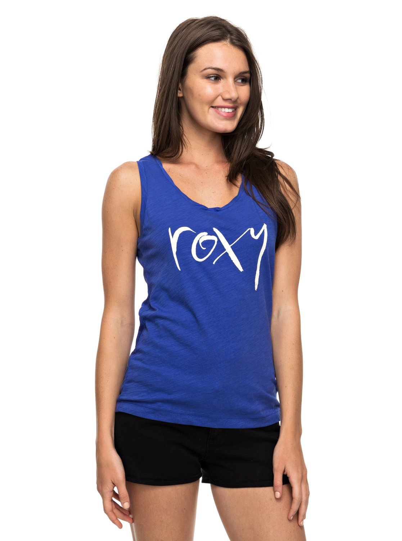 Koszulka Damska Roxy Billy Twist Straight Up (Royal Blue) Ss17