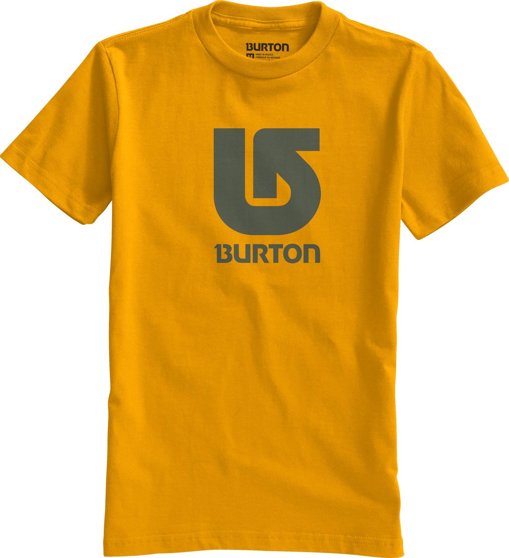 Koszulka Dziecięca Burton Boys Logo Vertical (Mustard)