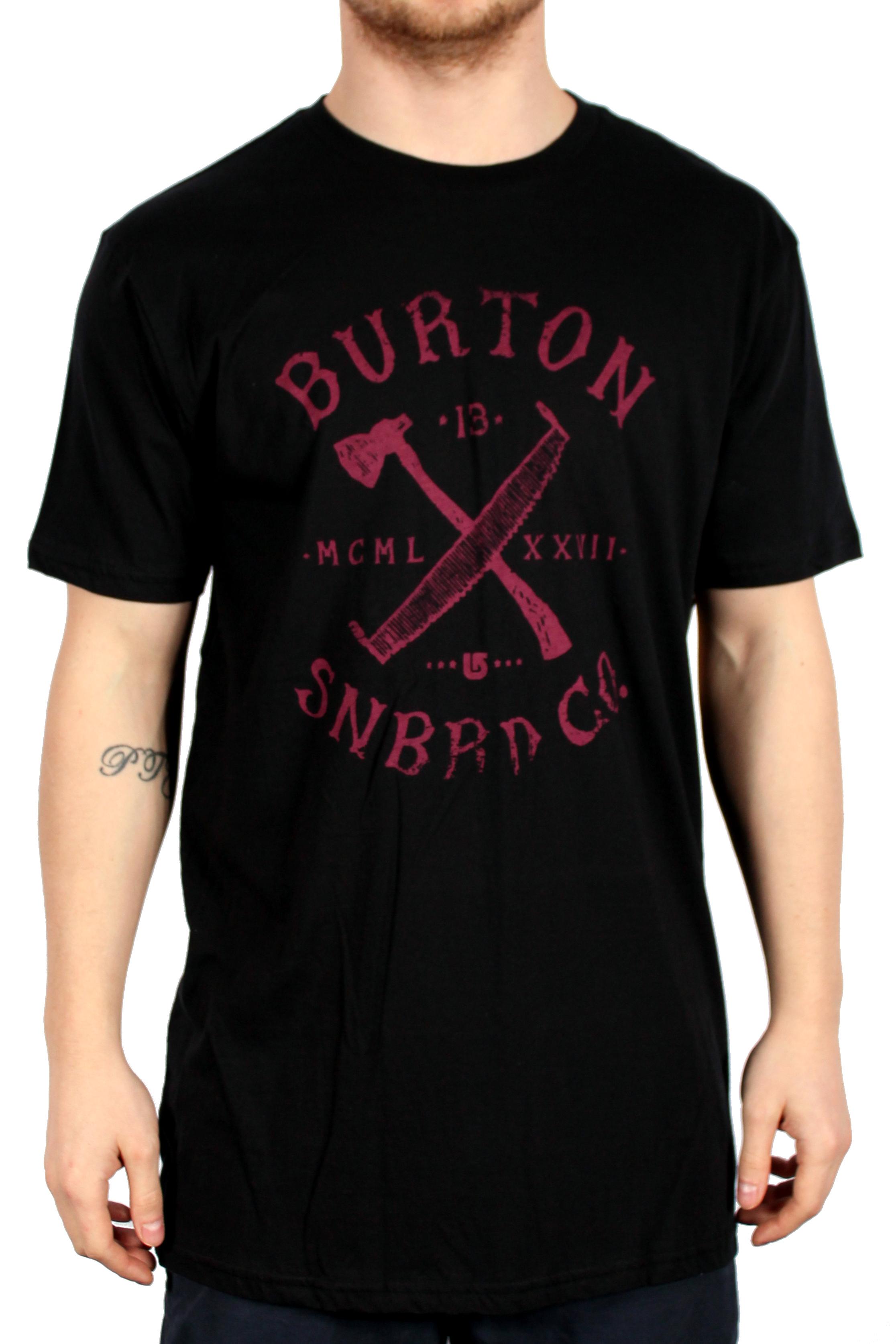 Koszulka Burton Logger Slim (True Black)
