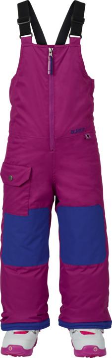 Dziecięce Spodnie Snowboardowe Burton Boys Minishred Maven Bib (Grapeseed) W18