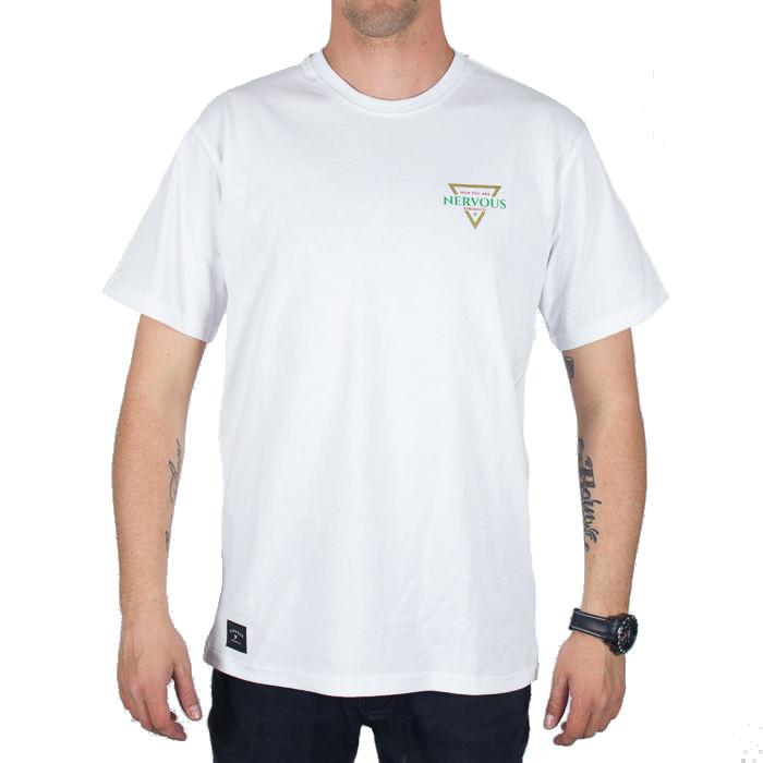Koszulka Nervous Sp18 Golden Tri White