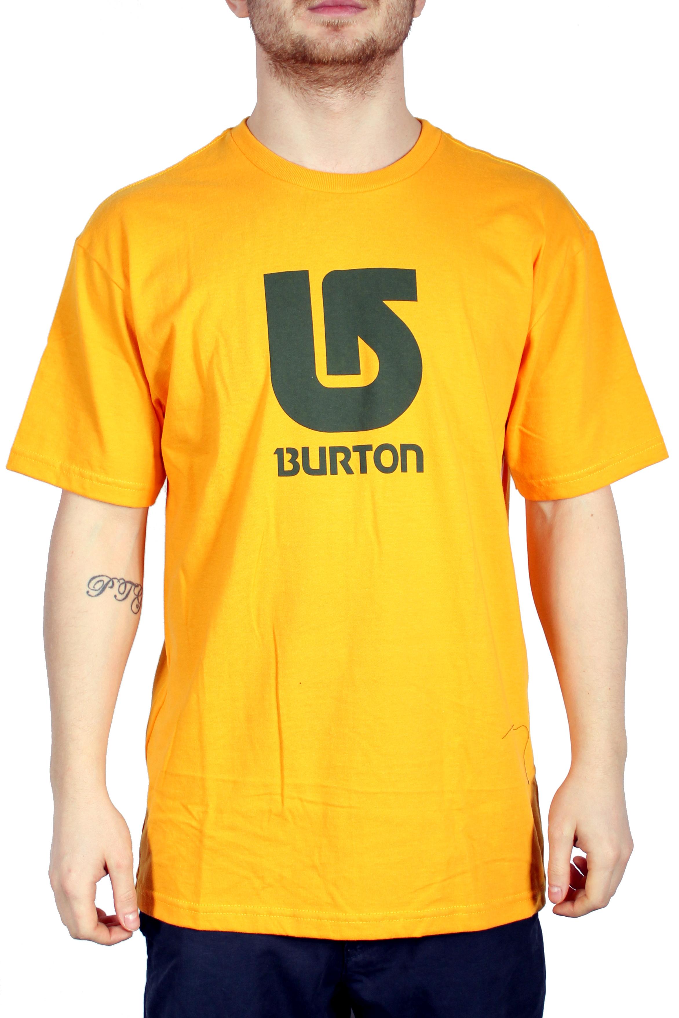 Koszulka Burton Logo Vertical (Mustard)