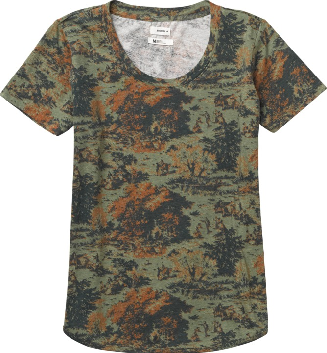 Koszulka Damska Burton Stke Tee (Loam Forest)