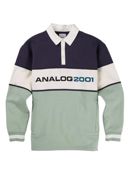 Bluza Analog Squam Rugby (Greystone / Aquagrey) W19