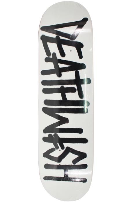 Deska Deathwish Deathspray Matte Wht/Blk 8