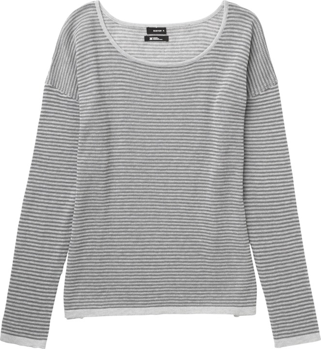 Sweter Burton Wmn Bubble (Dark Ash Heather Stripe)