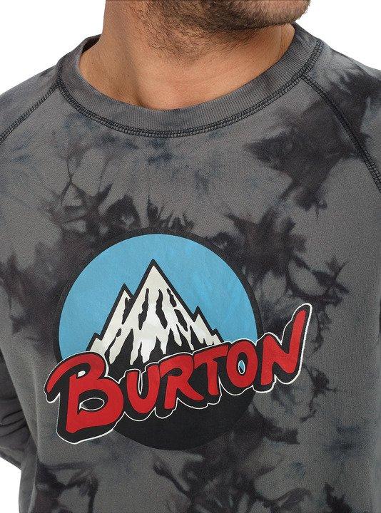 Bluza Burton Retro Mountain Organic (Phantom Tie Dye) W19