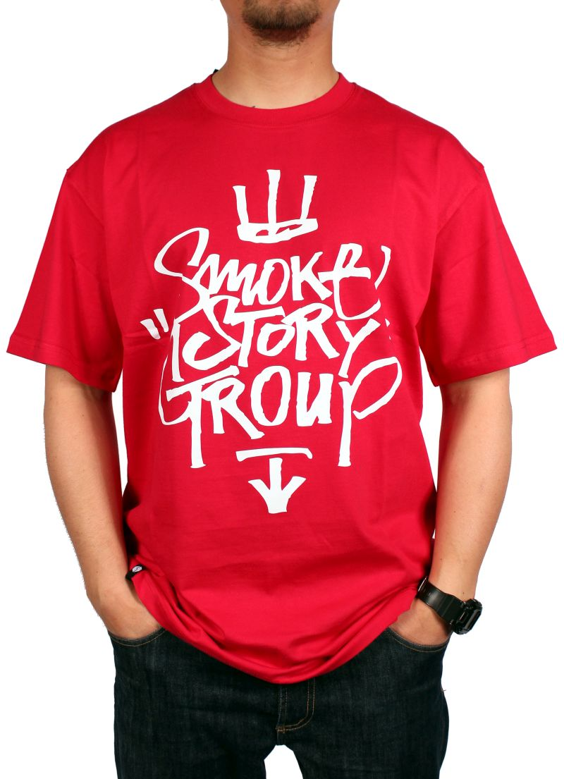 Koszulka Smoke Story Group Ssg Tag (Red)
