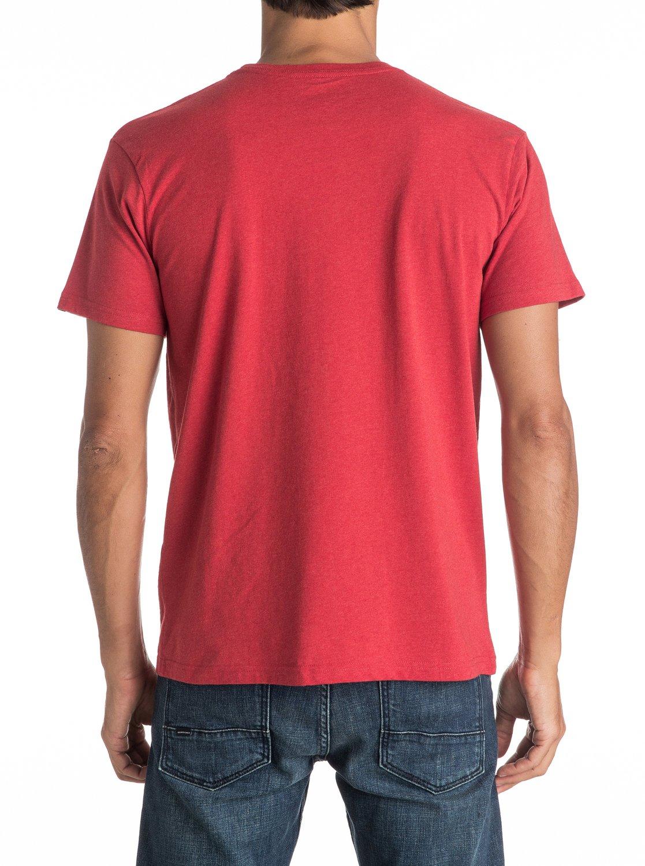 Koszulka Quiksilver Double Lines (Cardinal Heather) Ss17