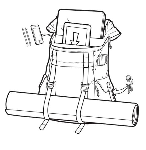 Plecak Burton Annex Pack (Mood Indgo Ripstop Cordura) W19