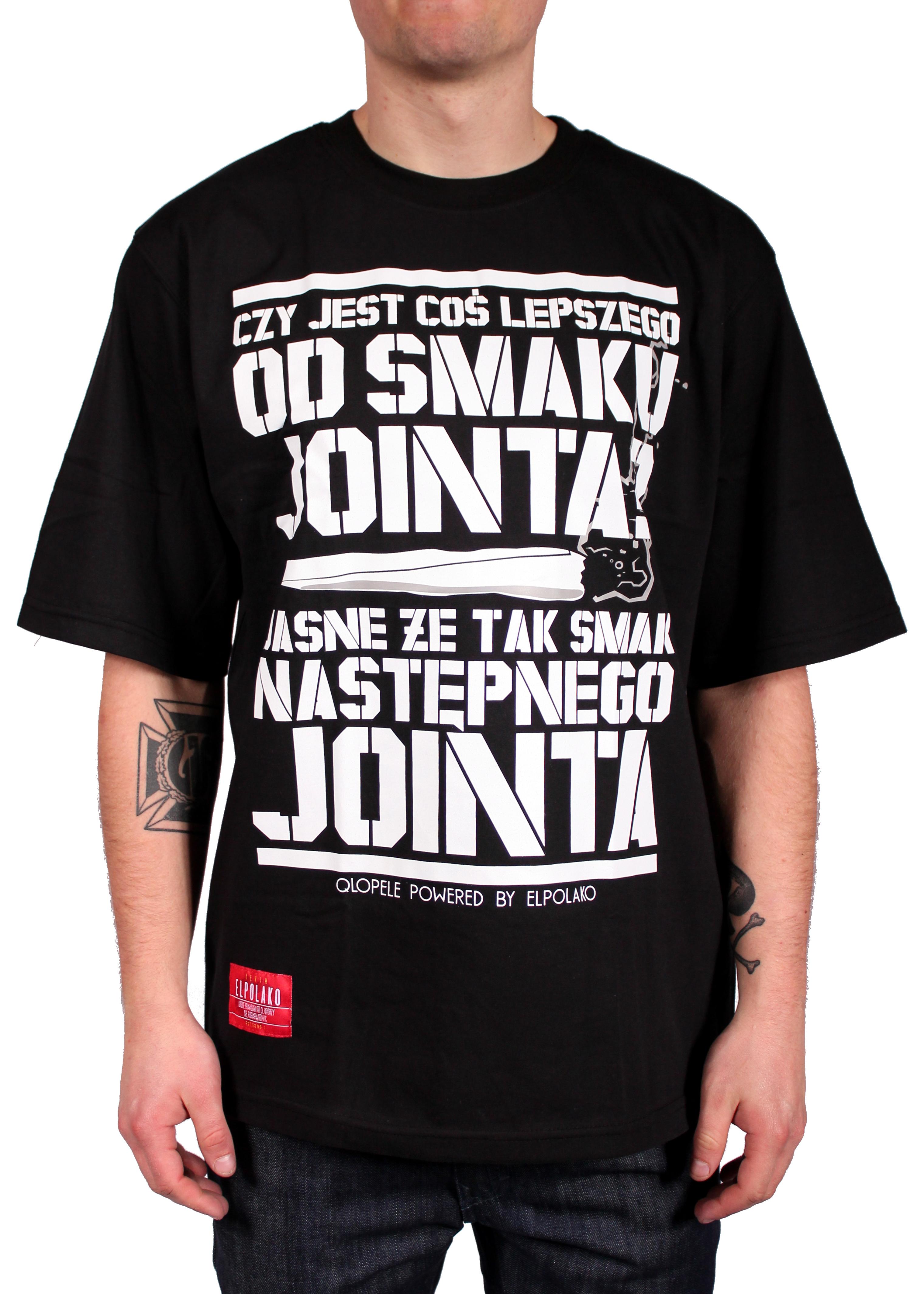 Koszulka El Polako Smak Jointa (Black)