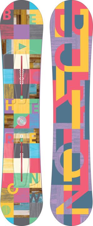 Deska Snowboardowa Burton Feather (140) W17