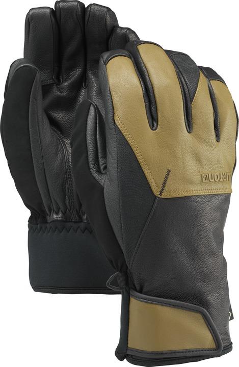 Rękawice Snowboardowe Burton Gondy Leather (True Black/Hickory)