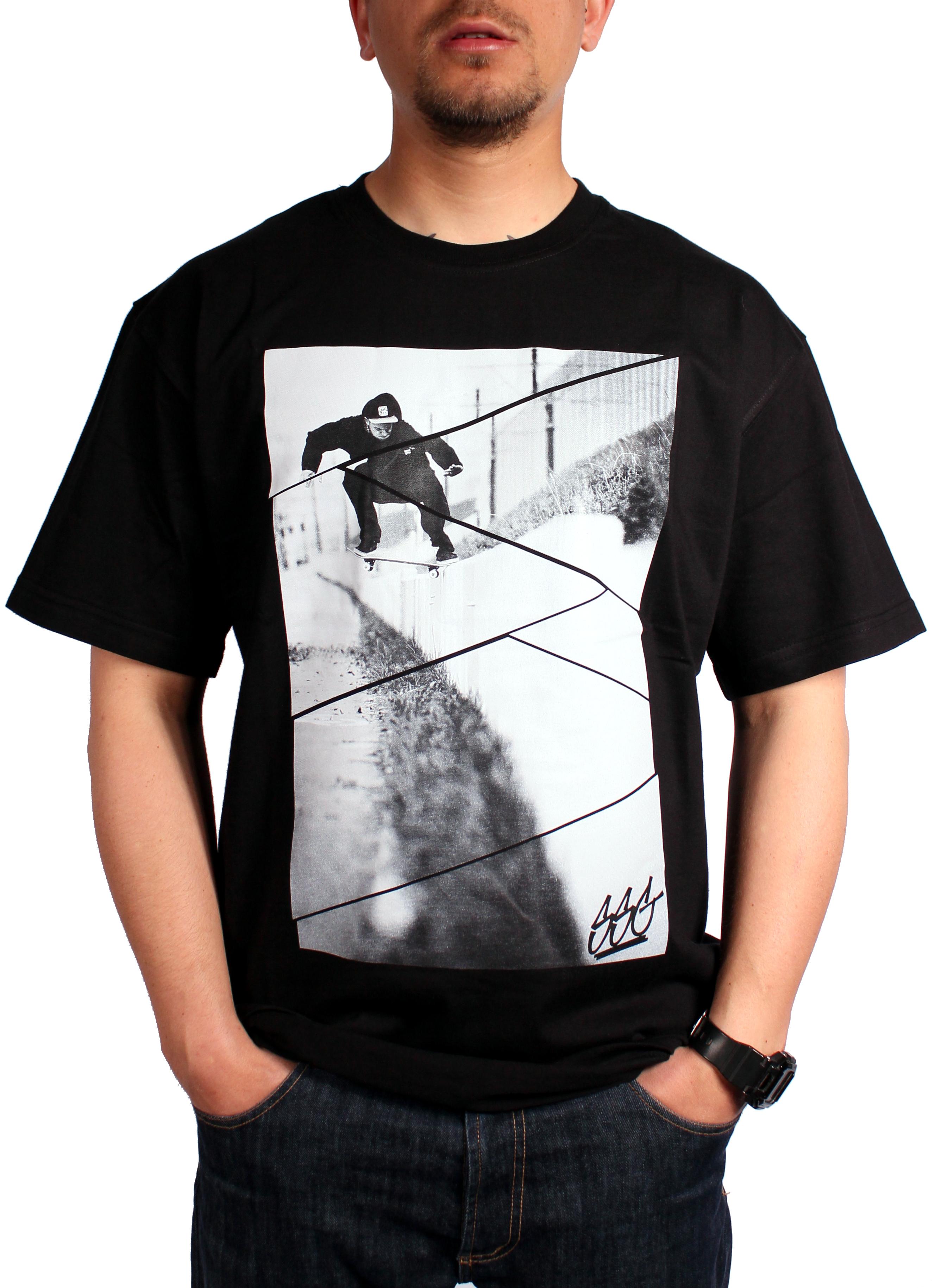 Koszulka Smoke Story Group Ssg Skate (Black)