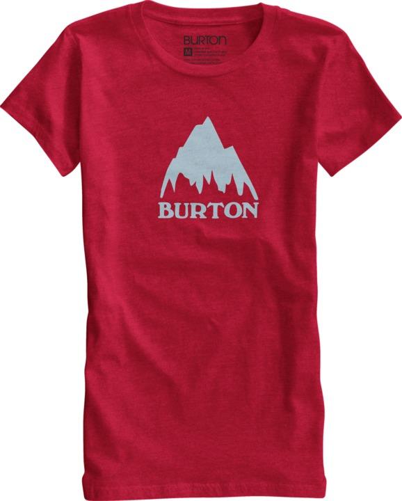 Koszulka Damska Mountain Logo (Heather Hot)
